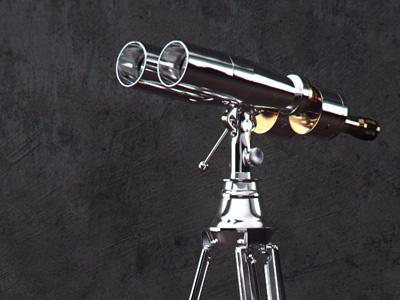 Naval Tabletop Binoculars