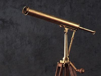 Parisian Brass Telescope