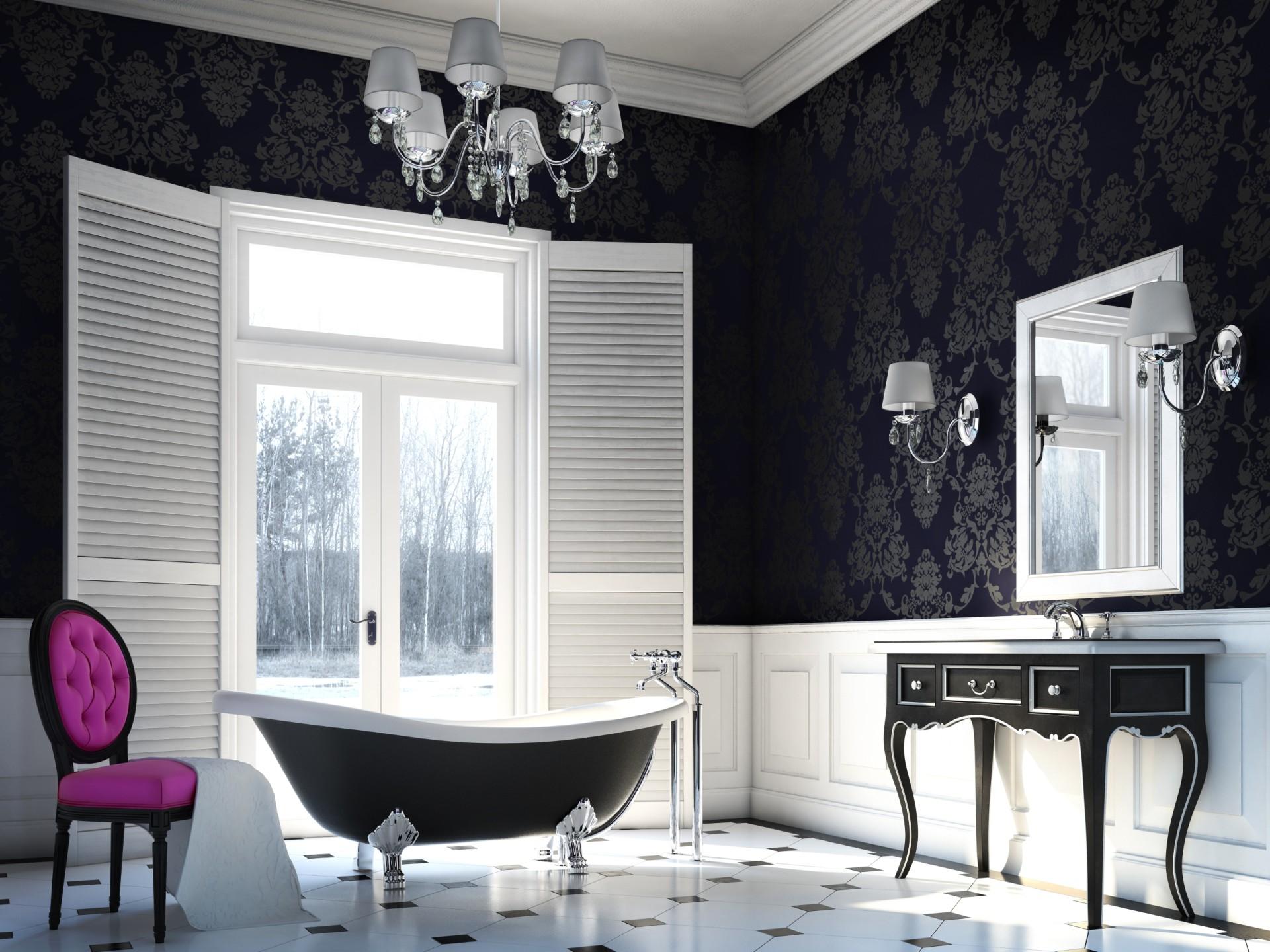 glamour łazienka